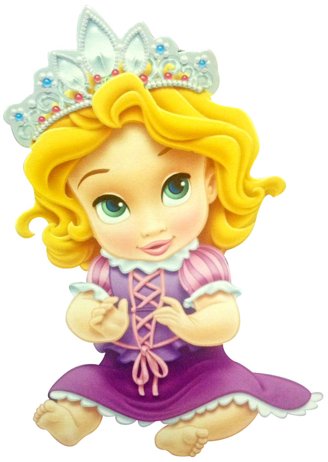 DISNEY PRINCESS BABIES 1st BIRTHDAY BIB ~ Party Supplies ...  |Baby Disney Princess