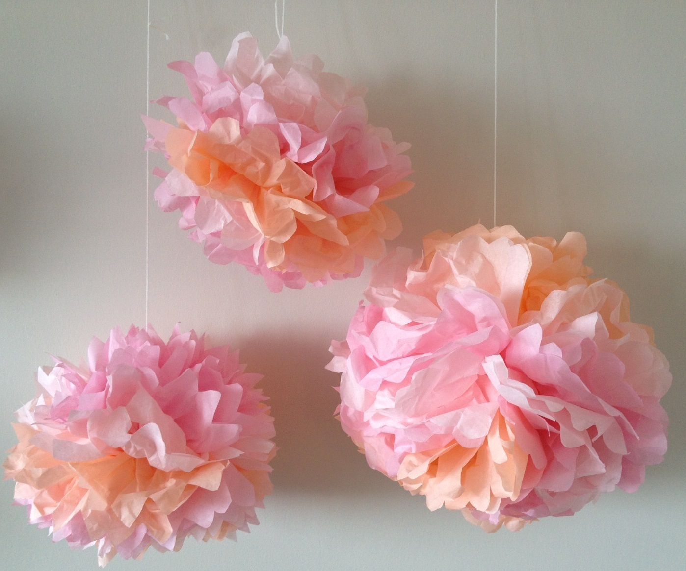 How To Make Tissue Paper Flowers Craft Tutorial Pinterest