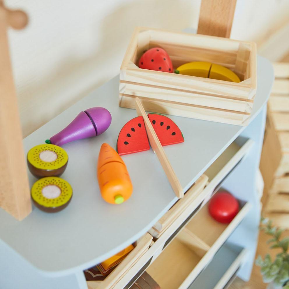 Wooden Fruits Basket Coco Village ENG in 2020 Fruits