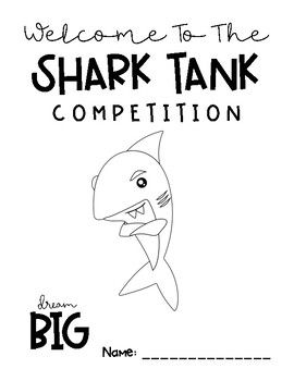 Shark Tank Project: Language Arts Project Based Learning