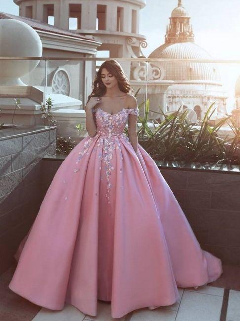 Schönste Abendkleider Online Rosa A Line Abiballkleider ...