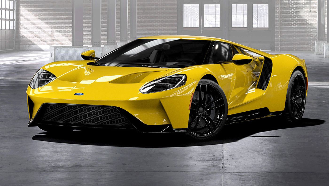 Ford Now Taking Orders For The New Gt Sports Car Ford Sports Cars Ford Gt Super Cars
