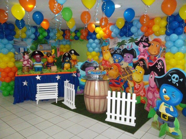 FESTA BACKYARDIGANS PARTY