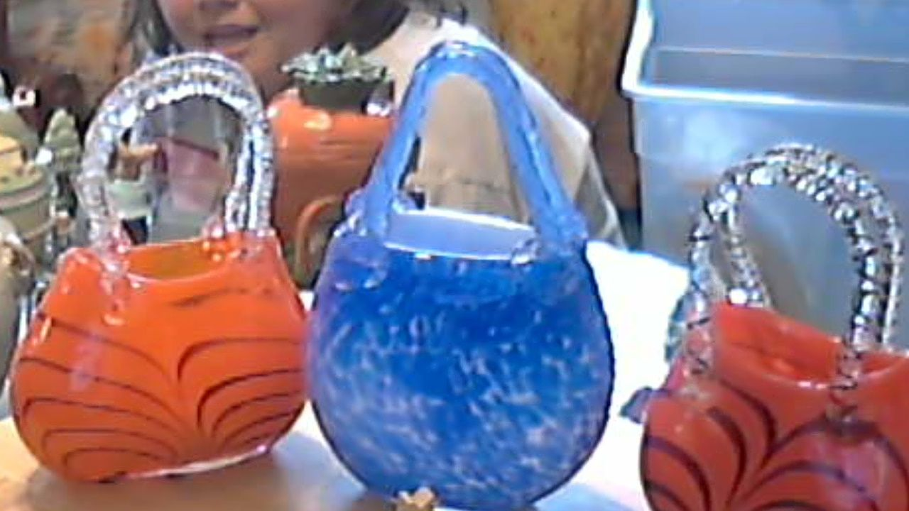 Beautiful Hand Blown Purse Vases 9 99 Ea Shipping These Are