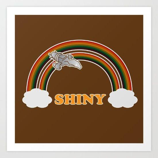 Shiny Serenity - Firefly   Featuring double rainbow - $15