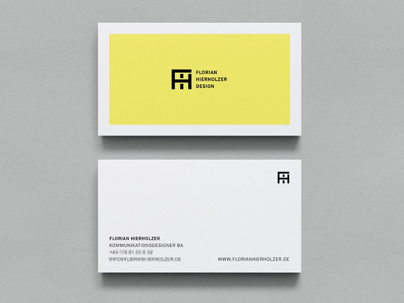 Business Card Design 56 Awesome Examples to Inspire You - blank business card template