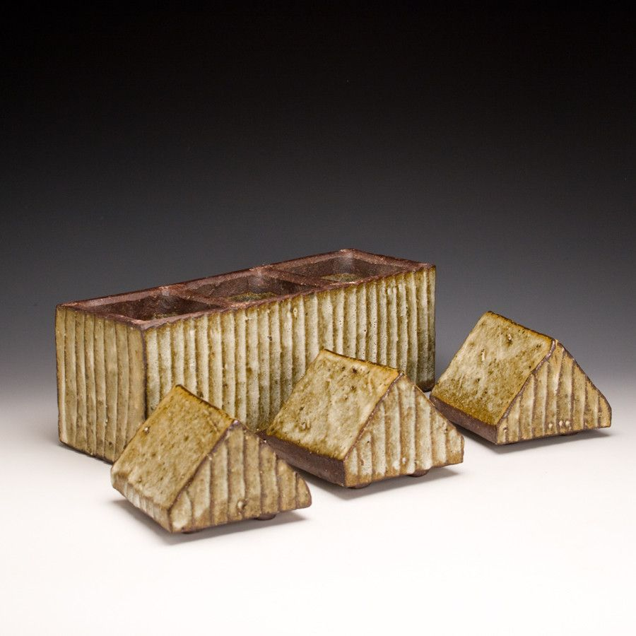 Bandana Pottery Triple Box