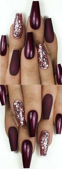 � 73 Best Eye-Catching Glitter Nails Designs So Perfect to try! �