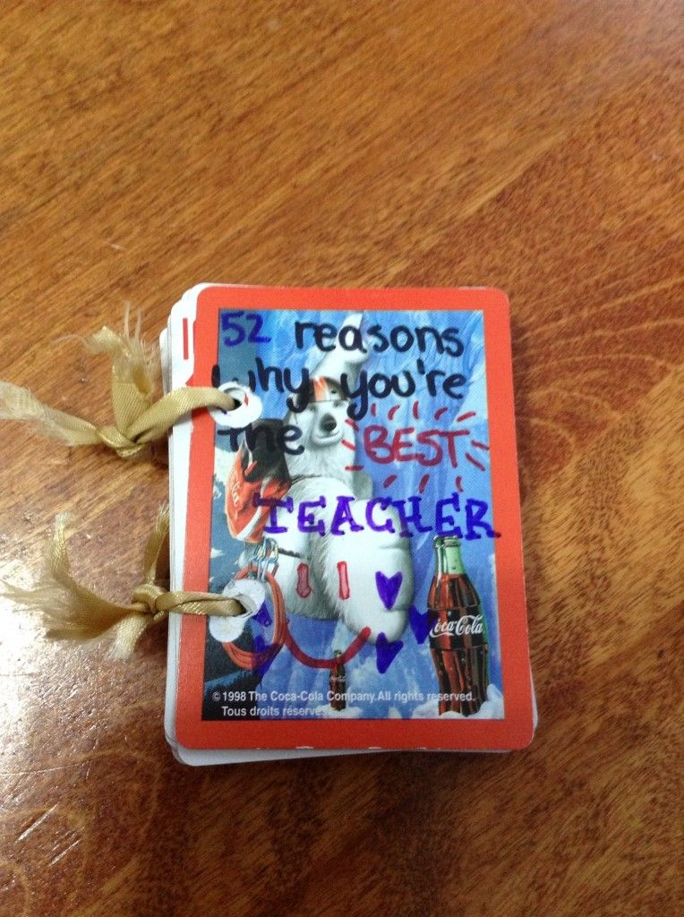 For kids to give their teachers what a great gift best