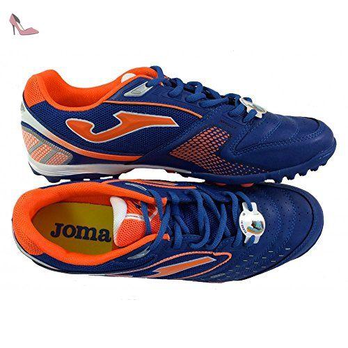 Joma Chaussure C/5Dribling 404Turf Bleu Orange - Bleu - Bleu Ciel, 39 EU