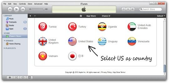 Install Apps That Aren't Available in your Country's