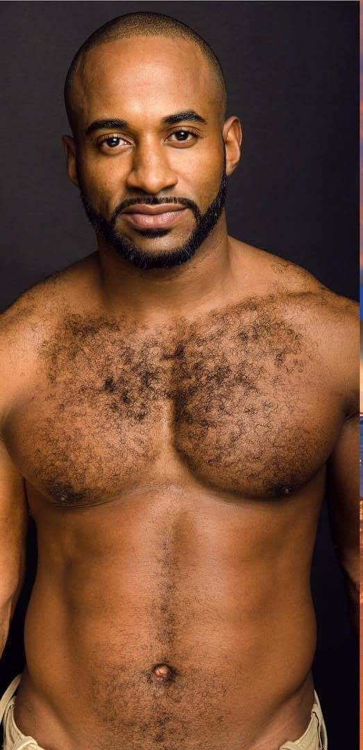 Black hairy models