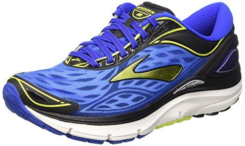 002104a14e35a Brooks Men s Transcend 3 Electric Brooks Blue Lime Punch  99.99 ...
