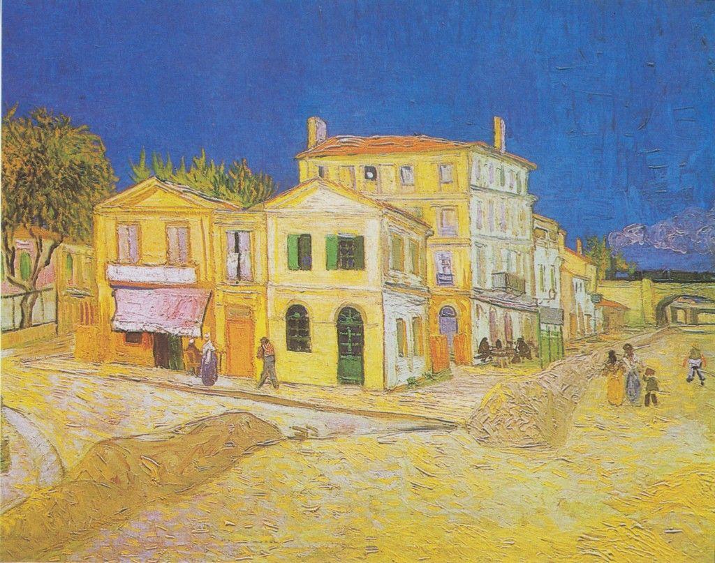 "Vincent Van Gogh, ""La casa gialla"", 1888."