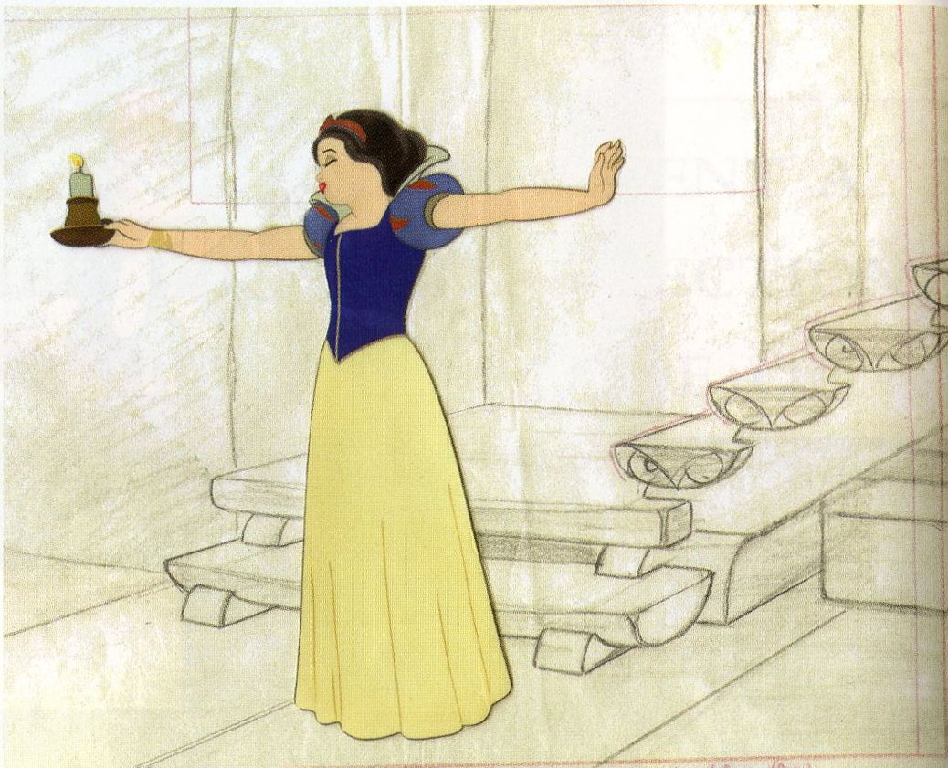 Snow White Production Drawings & Cels | Snow white, Disney concept ...