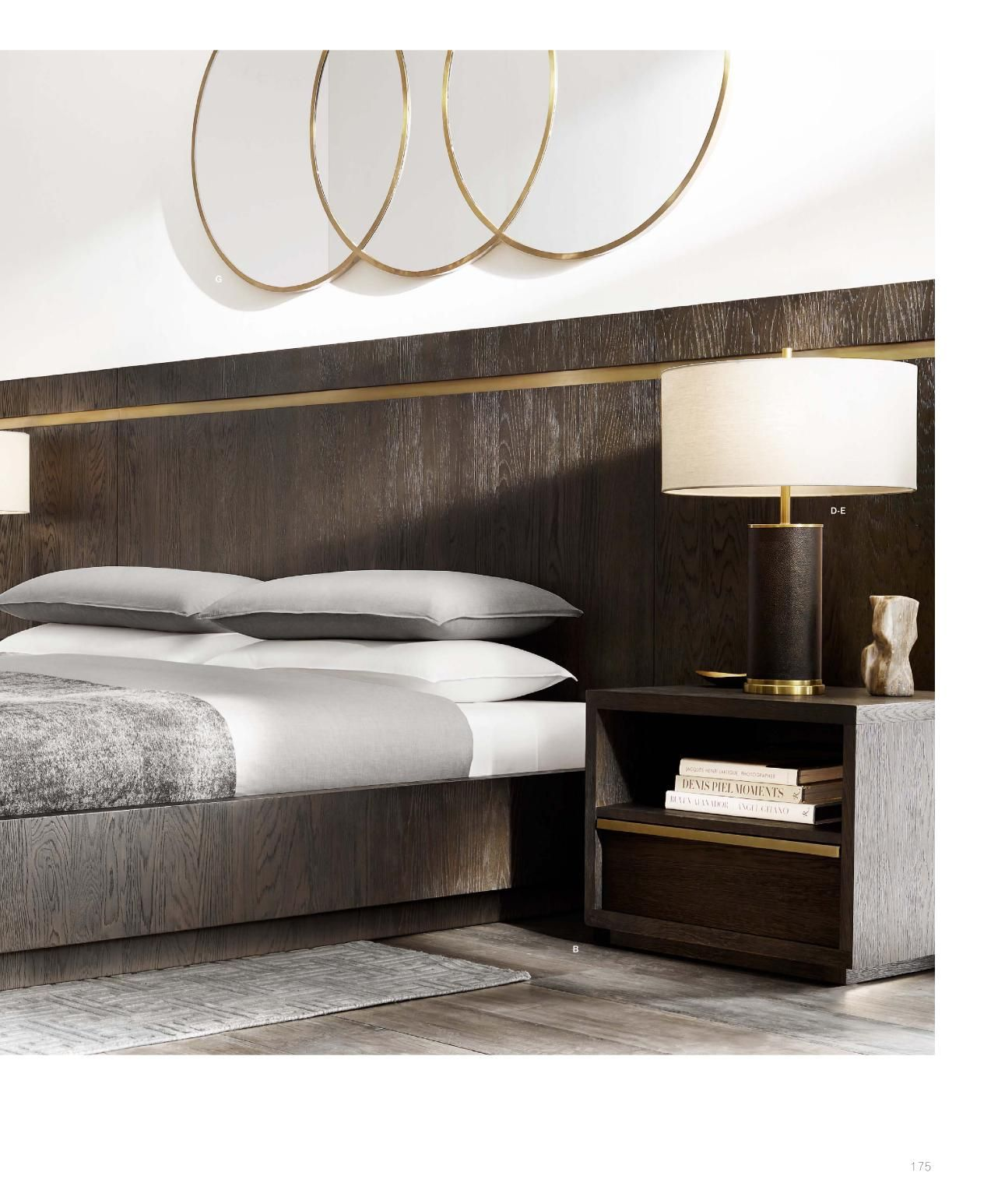Rh Source Books Luxurious Bedrooms Modern Bedroom Bed
