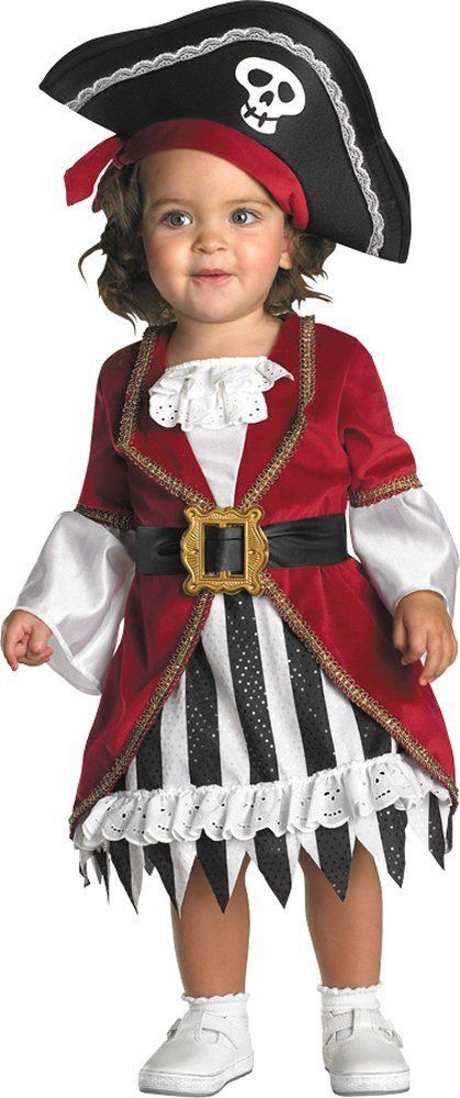 Toddler Baby Girls/' Pirate Princess Fancy Dress Party Halloween Cosplay Costumes