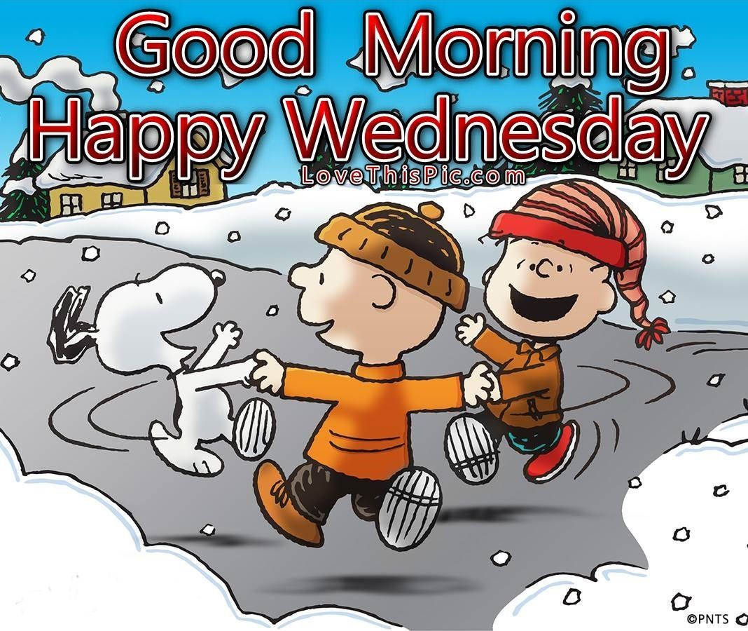 Good Morning Happy Wednesday Winter Quote Good Morning Wednesday Wednesdayu2026