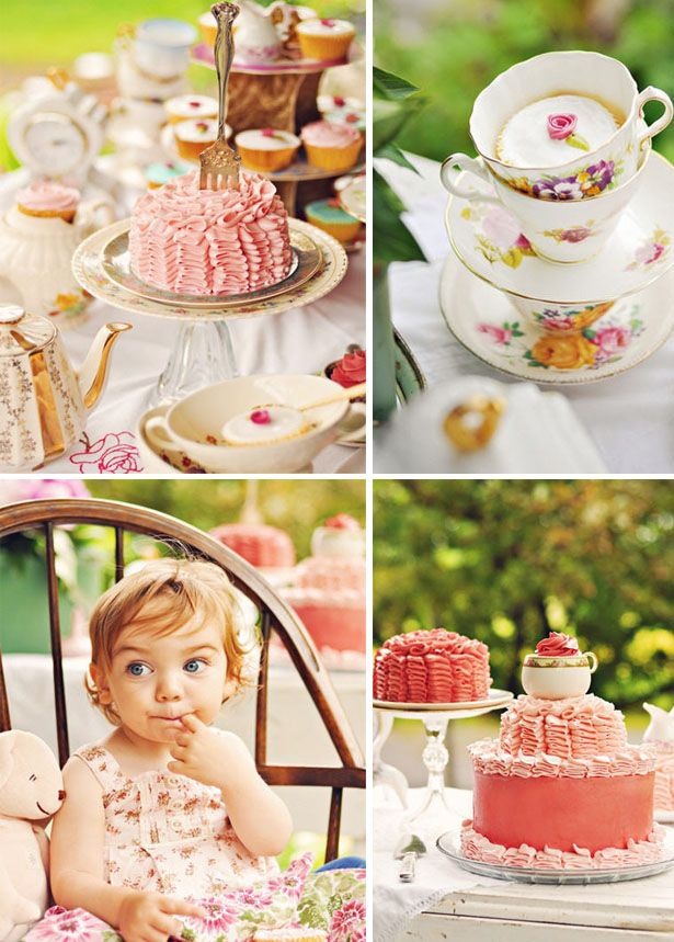 Darling Tea Party Ideas for Birthday Parties or Baby Showers