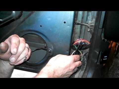 How to fix Door Speakers on Jeep Cherokee - Fixing Broken Wires in