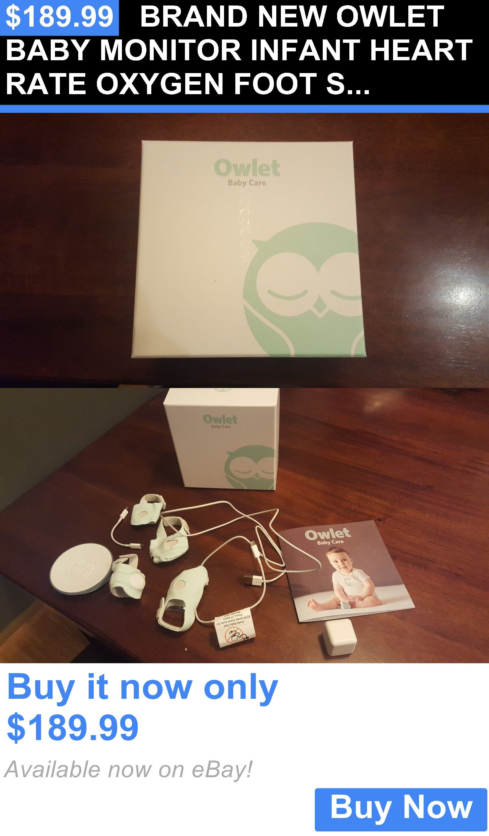Baby Brand New Owlet Baby Monitor Infant Heart Rate Oxygen Foot