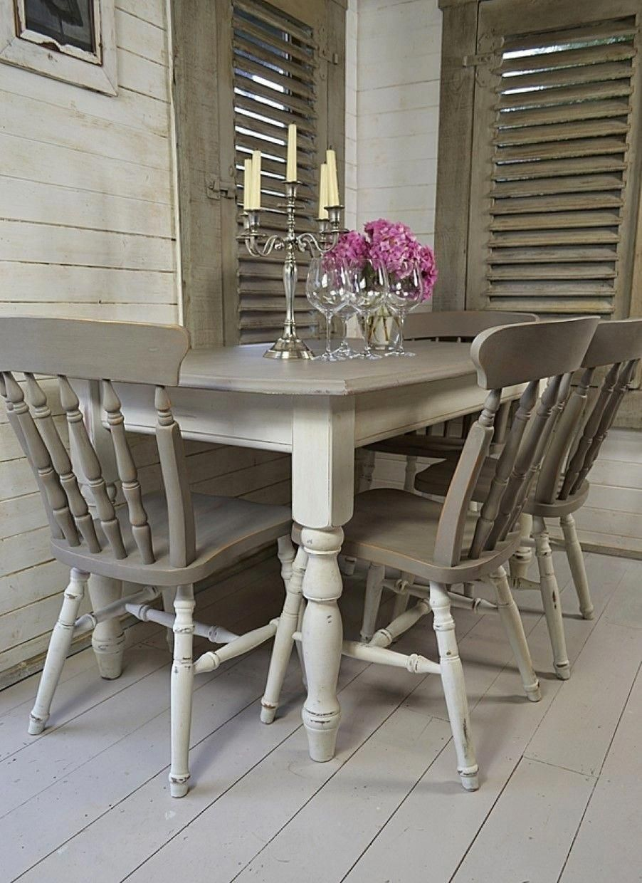 Cool Shabby Chic Decor Tip 07c53380dd096848a8cd43aa8b5e185e Excellent Decor To Kick Start A Shabby Chic Dining Tables Painted Kitchen Tables Grey Dining Tables