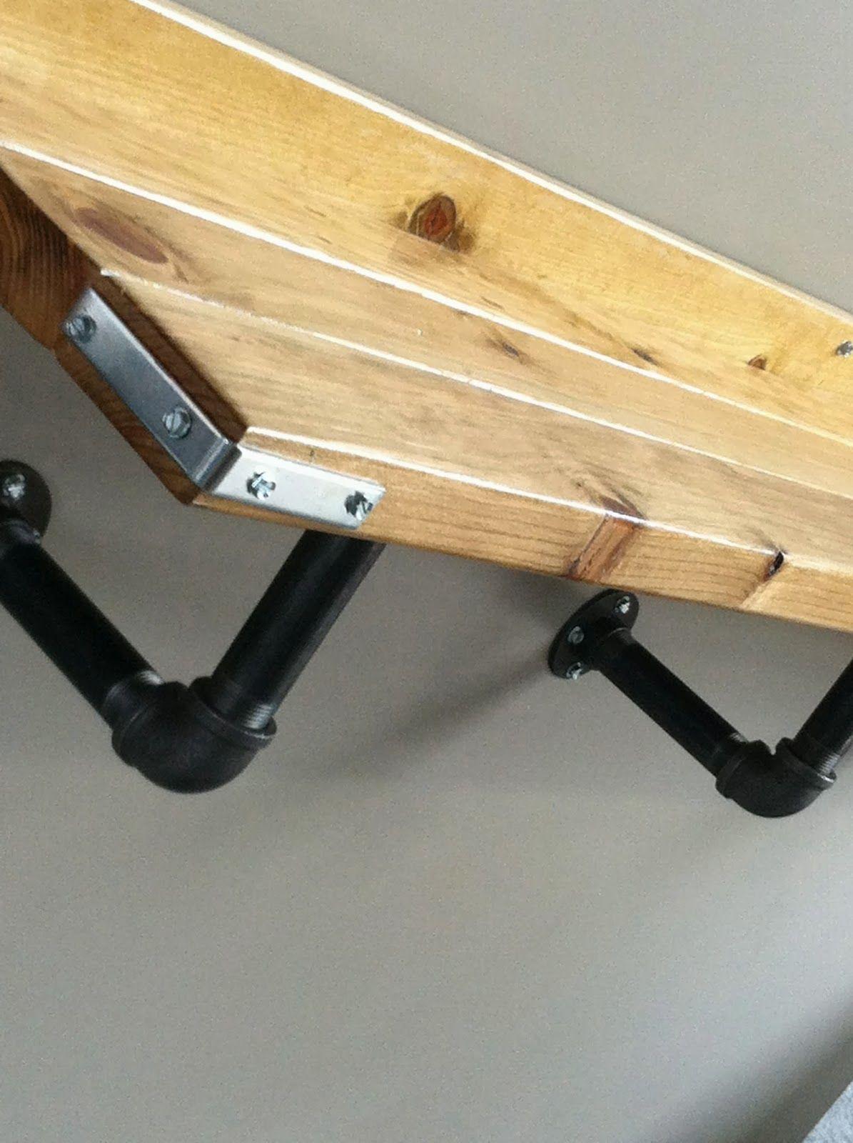 Easy Steampunk Bar Ledge Tutorial Hello all! I built this ledge (bar ...