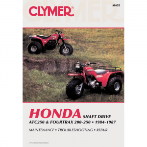 Finditquick Clymer Honda Repair Manuals
