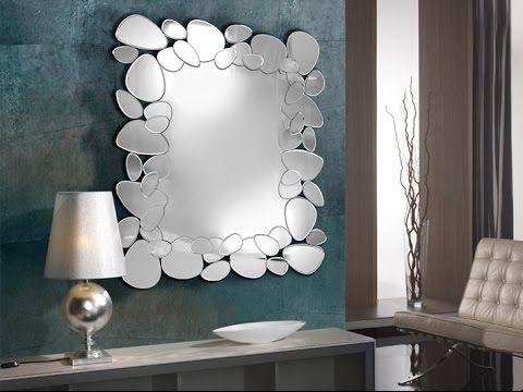 Credenza Moderna Con Espejo : Espejos modernos de diseño decorativos spjos y