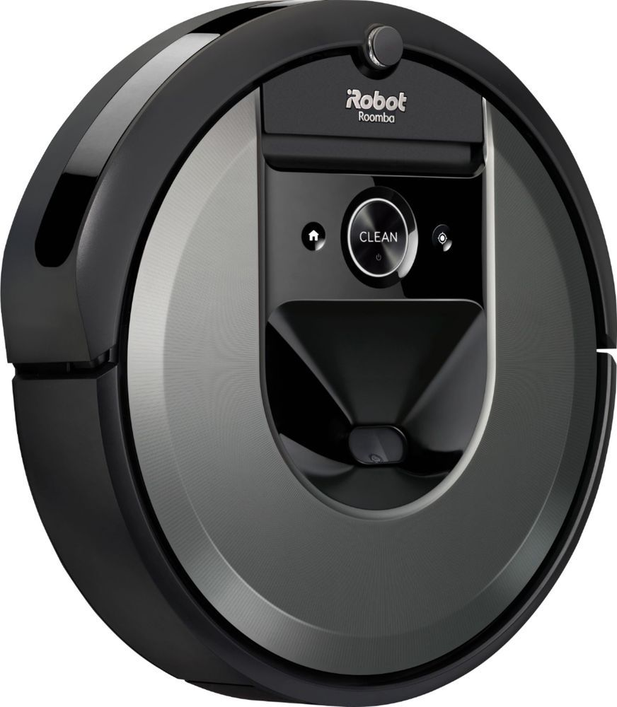 Irobot Roomba I7 Wi Fi Connected Robot Vacuum Charcoal I715020 Best Buy Irobot Roomba Irobot Roomba