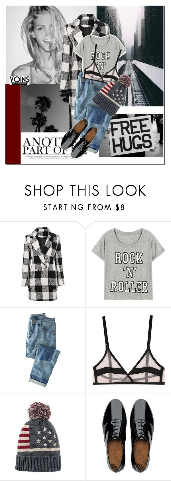 """Black"" by nastya-d ❤ liked on Polyvore featuring Prada, Wrap, Yasmine eslami and FitFlop"