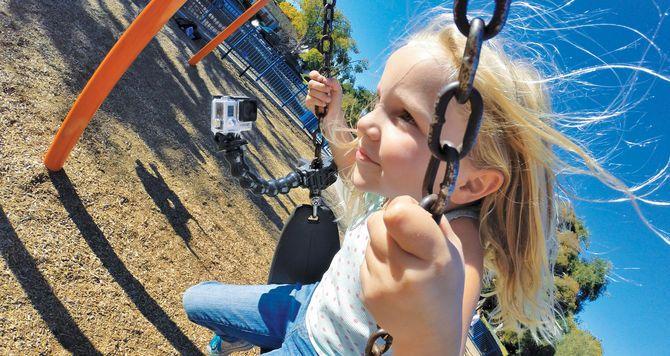 GoPro Gooseneck Mount - This bendable neck delivers versatile camera-angle adjustability - See more at: http://shop.gopro.com/mounts/gooseneck/ACMFN-001.html#/start=1