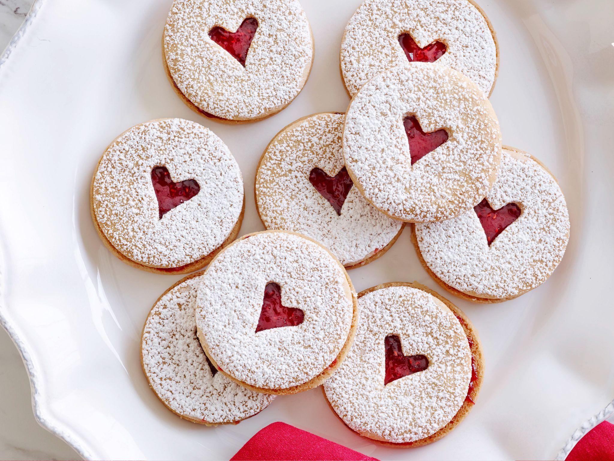 Mini Linzer Cookies | Recipe | Linzer cookies, Ina garten and Garten