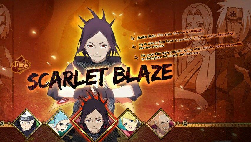 Pin De Narutosensei Em Scarlet Blaze Anime