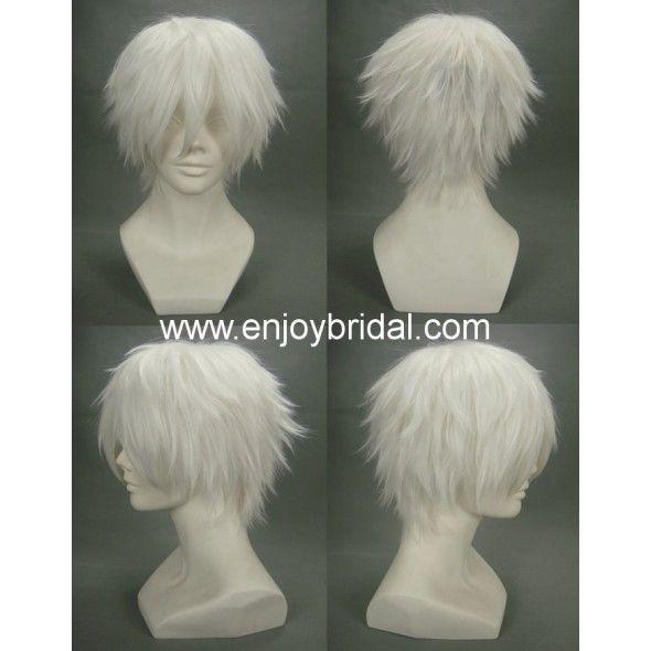 Cosplay Wig Inspired By Gintama Sakata Gintoki 23 00 Anime Wigs Cosplay Wigs Wigs