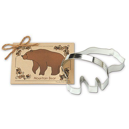 Mountain Bear Cookie and Fondant Cutter  Ann Clark  54 Inches  US Tin Plated Steel >>> For more information, visit image affiliate link Amazon.com