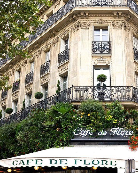 """Paris Photography, """"Cafe de Flore"""""""