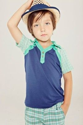 Golf style for boys - Axel & Hudson at www.pailsandposies.com