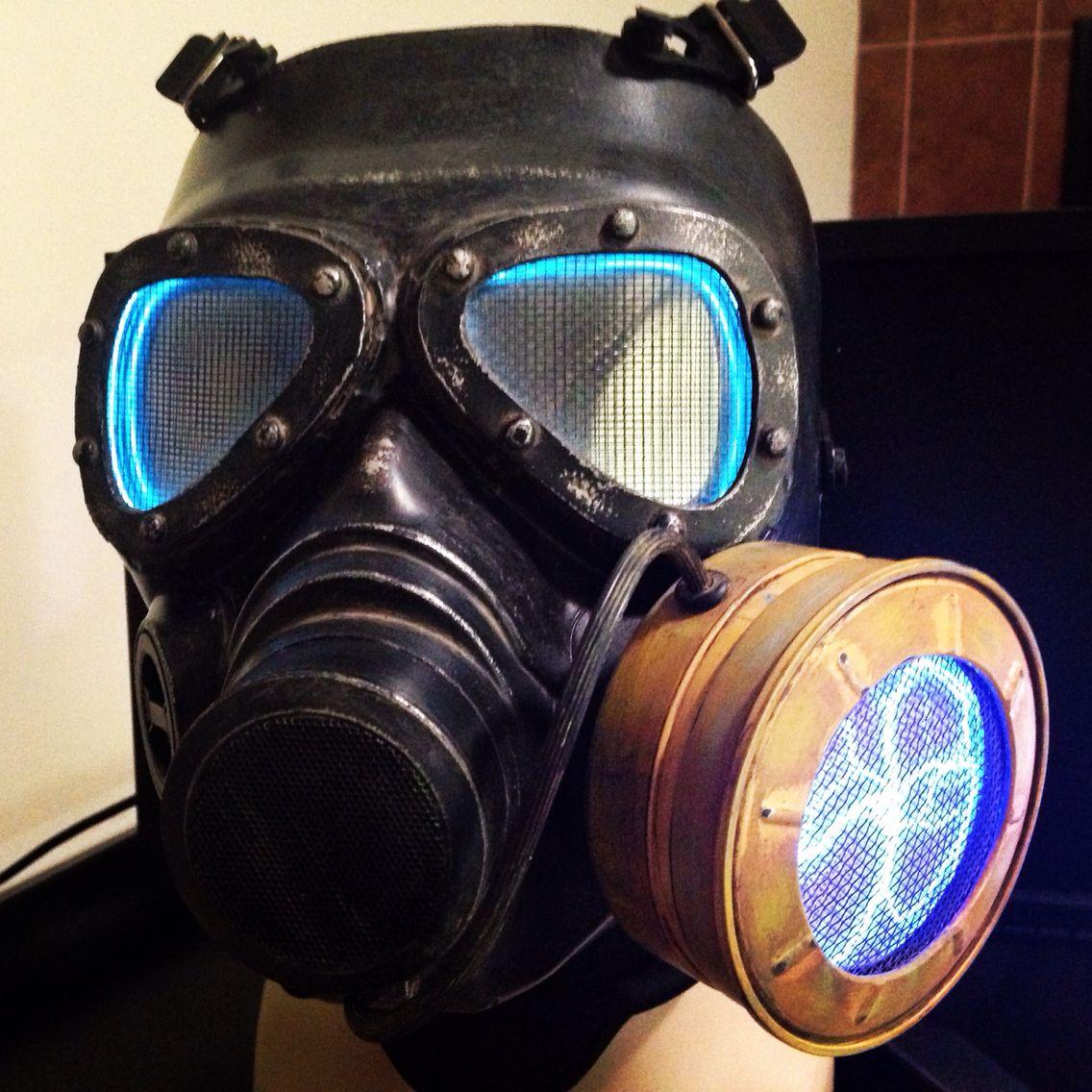 Bad Ass Gas Mask Hack | My Halloween Props | Pinterest