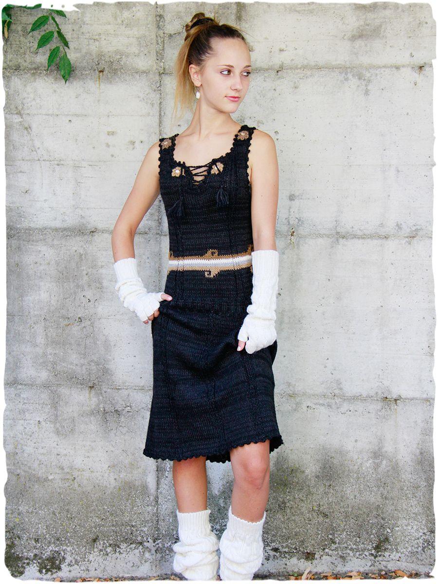 2582077eb33e Vestito Romana Vestito donna Romana  Vestito scamiciato lavotato a mano con  filo doppio