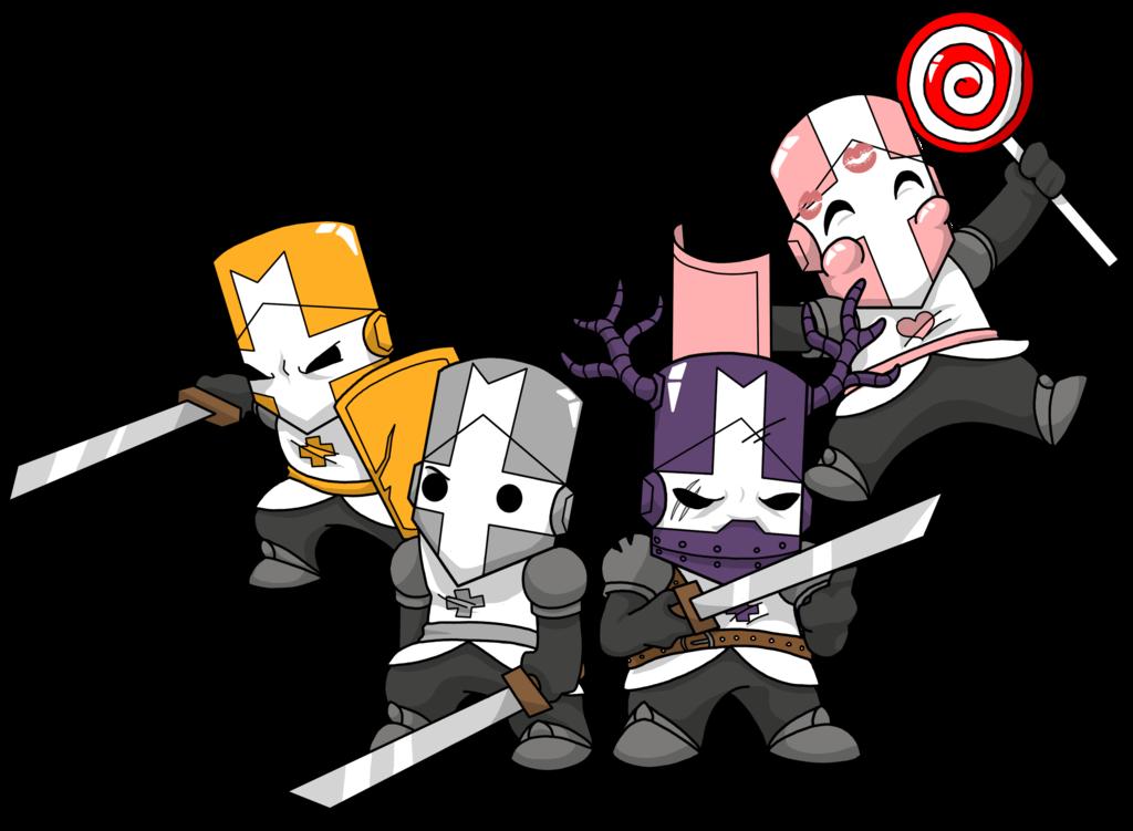 Castle Crashers By Tsukiohkami Deviantart Com On Deviantart Castle Crashers Castle Video Game Tattoo