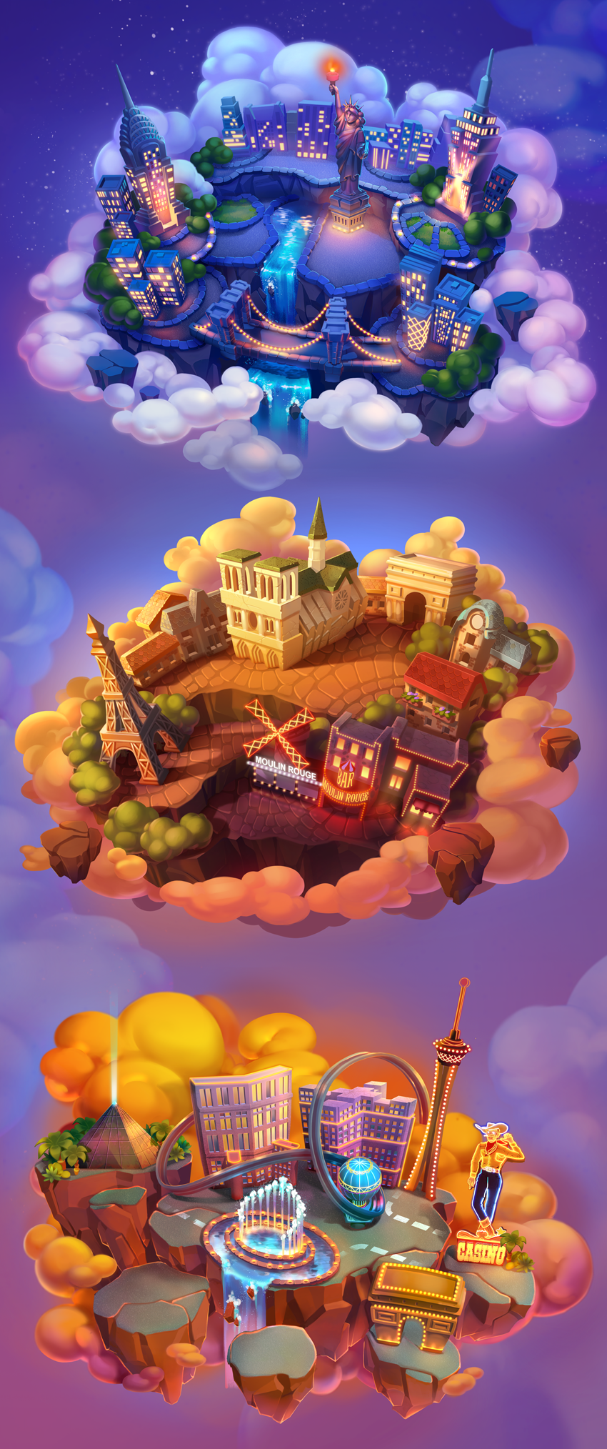 Flying islands on behance game pinterest behance gaming and showcase and discover the latest work from top online portfolios by creative professionals across industries gumiabroncs Image collections