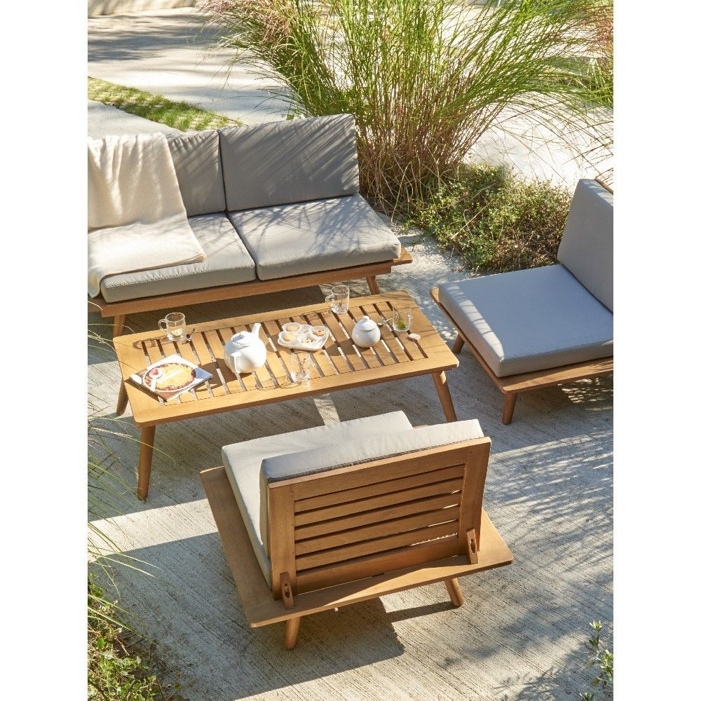 Table Et Banc Pour Terrasse | Cartier Love Online