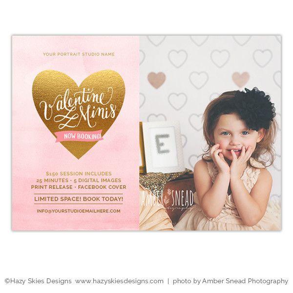 Valentines Mini Session Marketing Template Valentine Minis Mini - Mini session templates
