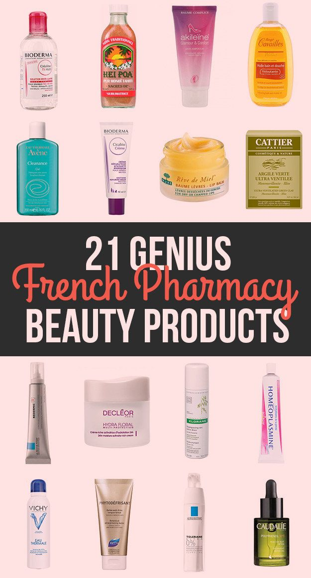 21 Genius Products From French Pharmacies and carried @NewLondonNYC