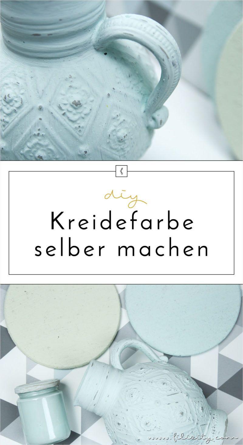 Kreidefarbe selber machen - Rezept, DIY Anleitung & Infos