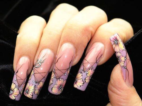 acrylic nail designs french tip - Acrylic Nail Designs French Tip Acrylic Nails Designs