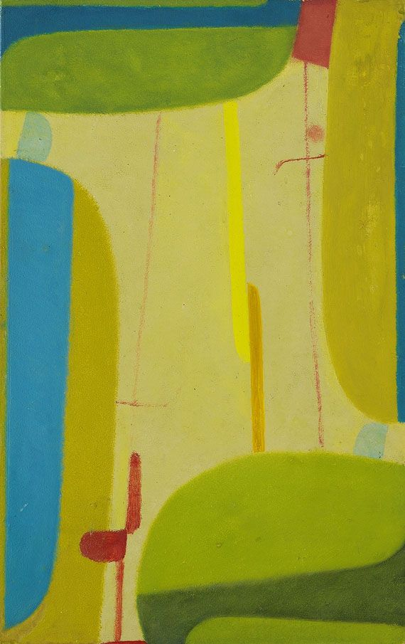 Max Ackermann (mostly yellow, green, blue, bit o red)