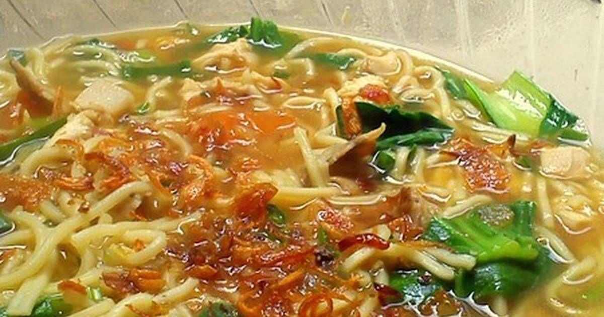 Resep Bakmi Jawa Godog Rebus Yogyakarta Oleh Rainbow Plate Resep Resep Masakan Resep Masakan