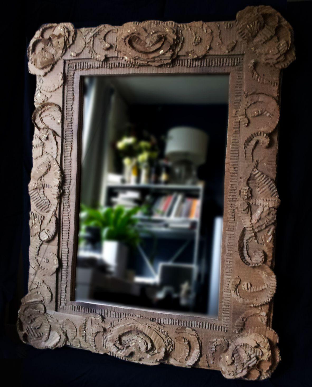 Elegant Recycled Cardboard Frame by Robert Carroll | Cadres ...